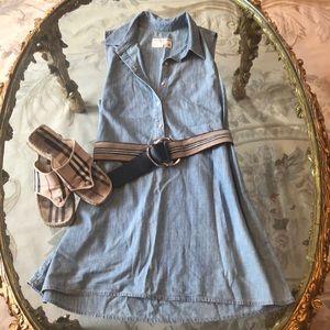 Rag& Bone denim dress/ belt/ shoes available